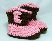 Baby Cowboy Booties baby slippers newborn infant toddler baby socks