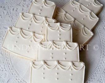 Traditional Wedding Cake Cookies (1 Dozen)