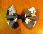 Moogle Final Fantasy hair bow or bow tie