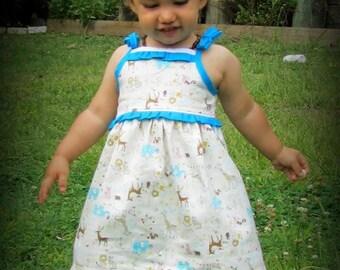ADD ON ~ Tara's Tiered Sundress - PDF pattern and tutorial - Girl - By LittleKiwisCloset
