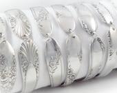 4 Bridesmaids Bracelets, FREE ENGRAVING, Set of 4, Bridesmaids Gifts, Bridesmaid Jewelry, Spoon Bracelet, Spoon Jewelry, Vintage Wedding