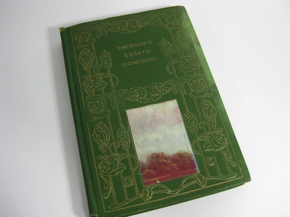 Emerson essays second series nature