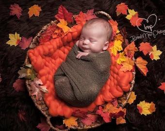 Big Bumpy posing mat - Pumpkin