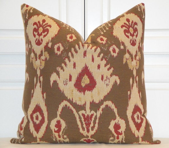 Decorative Pillows Etsy : Decorative Pillow Cover IKAT Woven by TurquoiseTumbleweed on Etsy