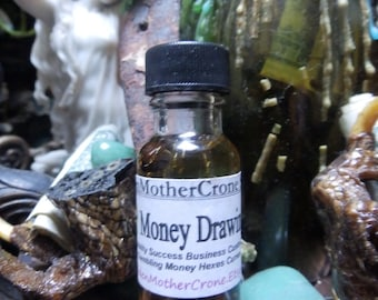 Cha Chin Money Scented Oil Wicca Pagan Spirituality Religion Ceremonies Hoodoo Metaphysical MaidenMotherCrone