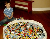 Canvas Lego Block Storage Bag  aka Late Night Foot Saver,  you choose color