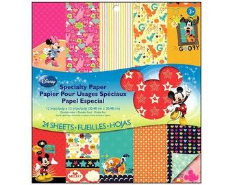 EK Paper Pad Disney Special Mickey Family Mickey Mouse Donald Duck Daisy Goofy Pluto