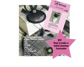 diy how to make a fascinator - cd hat making kit - diy fascinator kit