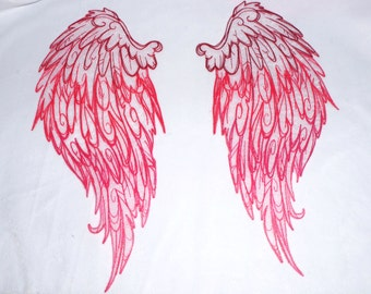 Iron On patch Wings My Little pony angel