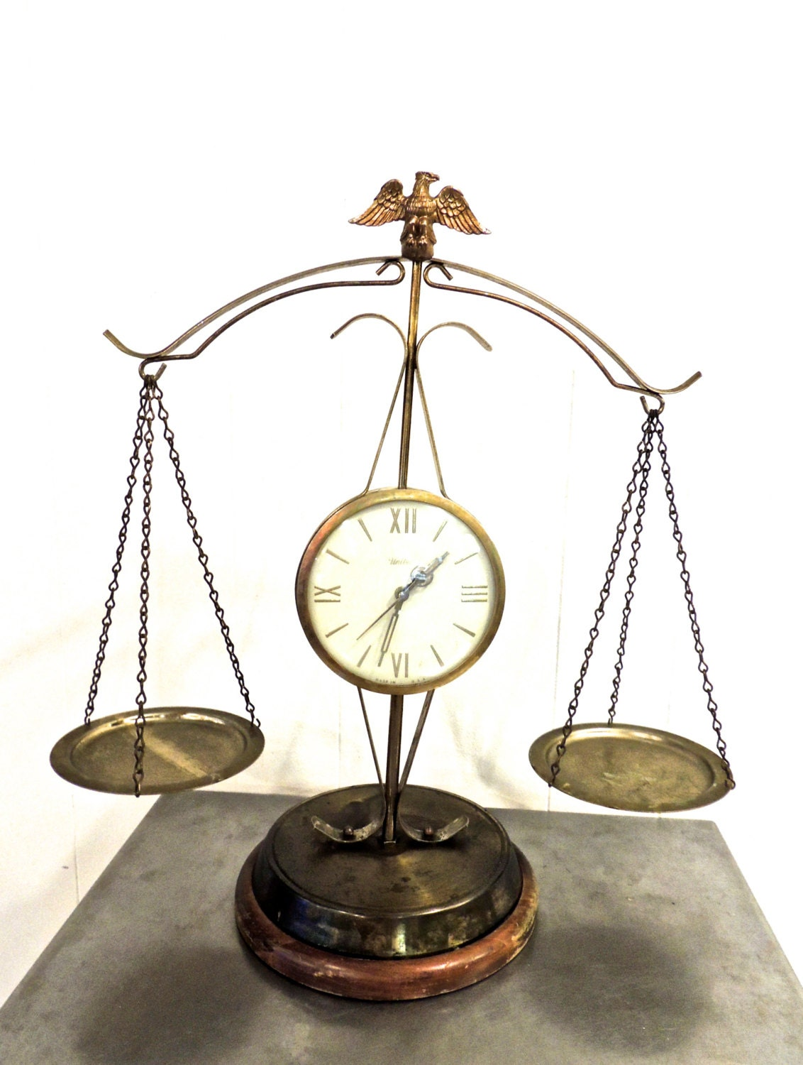 Vintage Scales Of Justice 1960s Mid Century United