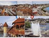 Switzerland Postcard - Luzern