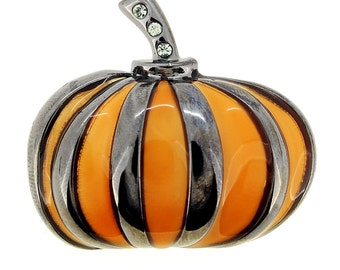 Halloween Pumpkin Pin Brooch 1001893