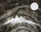 Fine Art Print-Odessa releases the Starlight