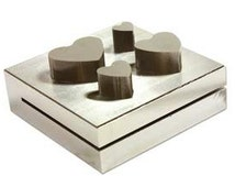 Heart Disc Cutter-Perfect for Cutting Your Own Hearts 11  mm- 25 mm-BRAND NEW