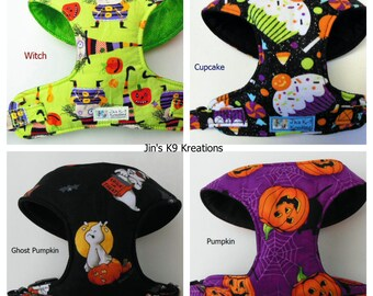 Halloween Comfort Soft Dog Harness - Made to order-