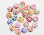 Buttons - Vintage Rose (Set of 20)