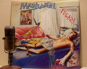 "ON SALE Marillion Vinyl Record Album 1980s Neo Progressive Rock Fish Alternative - Marillion ""Fugazi"" (Original 1984 EMI w/original inner sl"