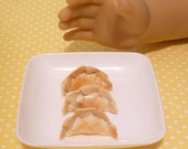 Miniature Potstickers/Asian Dumplings for American Girls 1:3