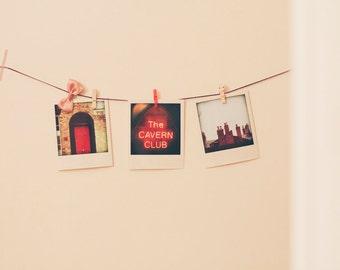 Polaroid set LIVERPOOL