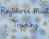 Registered Mail Shipping Upgrade
