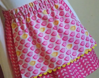 Buy Any 2 Skirts and Get 1 FREE, Fluffy Birdie Apron Skirt, Size 2, 3, 4, 5, 6, 7, 8, 9, 10, and 12