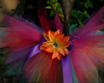 Rainbow Pixie Cut Tutu Size 12 Months