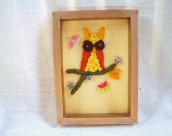 Items similar to owl art large couple 2 room decor on etsy for Room decor embellishment art 3d