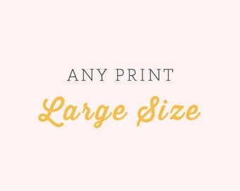 Any Fine Art Print - Your choice of Size - Large Size Prints - Nature Flower Vintage Style Prints