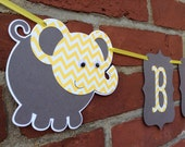 small BABY gray and yellow chevron,ELEPHANT, its a girl, its a boy, sweet baby, baby boy, baby girl, photography prop,