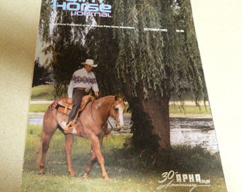APHA Paint Horse Journal October 1992 30th Anniversary issue