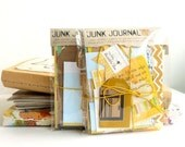 JUNK JOURNAL 'bits' - 'Always the Sun' - coordinated ephemera to create your own unique mini book