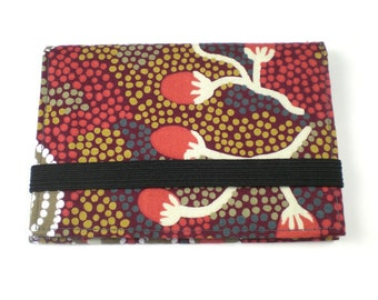 Wallet - Beaded Red