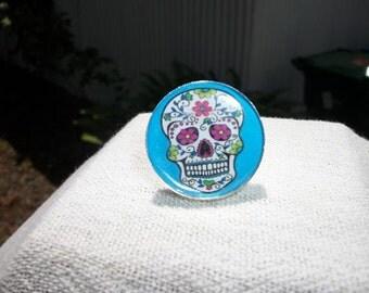 Ring - Sugar Skull