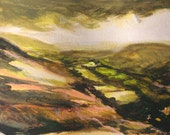 Brecon Beacons No.2 Original Acrylic on Paper Painting