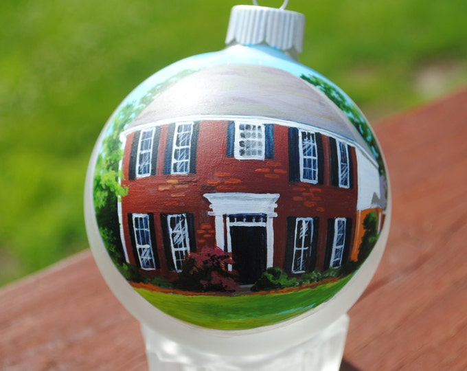 Custom Home Warming gift  Hand Painted from Picture.  -sold