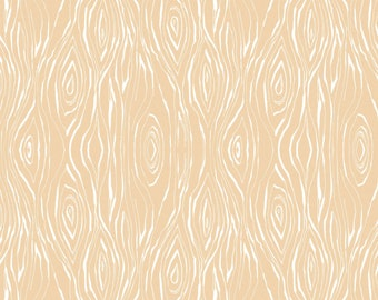 Good Company - Woodgrain in Beige by Cori Dantini for Blend Fabrics