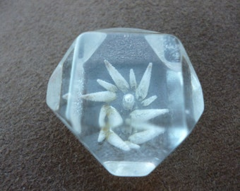 Special Lucite Chunky Button
