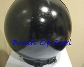 Ball Head Cage With Collar BDSM Bonds of Steel Kinky Mature Bondage Slave Master Goth 50 Shades