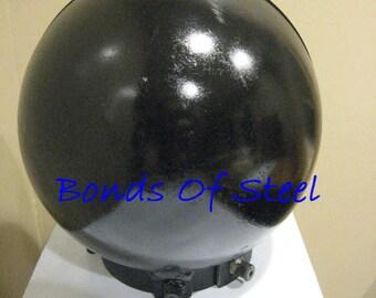 Ball Head Cage With Collar BDSM Bonds of Steel Kinky Mature Bondage Slave Master Goth 50 Shades