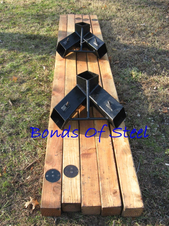 American Made Furniture >> Angled Leg 4X4 Wood Post Angle Brackets Bonds Of by ...