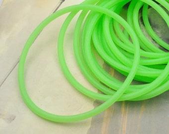 elastic,rubber elastic,rubber hair elastics,20pc Green Flash rubber elastic,rubber bracelet