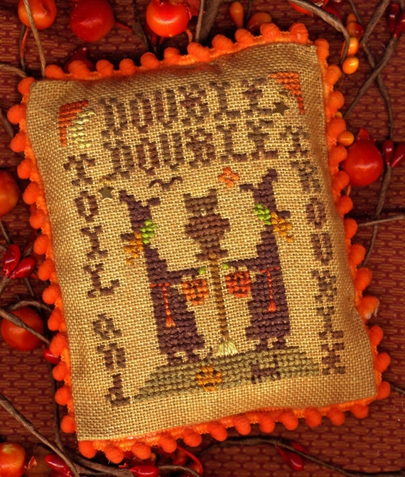 double cross stitch instructions