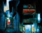 """After Hours- Fine art print - 16 x 16"""" - Signed by the artist"""