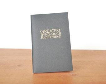 black handmade journal: great little book