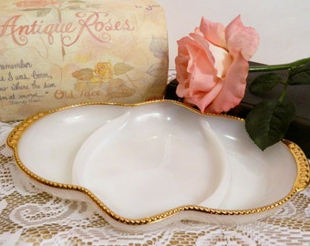 White Milk Glass Serving Dish. Fire King Oven Ware. Tea Party Serving Tableware. Wedding Dish. Dessert Buffet. Entertaining. Bridal Shower.