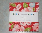 Ruby charm pack by bonnie and Camille for Moda Fabrics