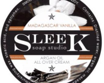 Argan Oil All Over Cream-Madagascar Vanilla
