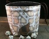 Geomorph Dungeon Map Dice Bag
