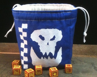 Lucky Bloo Orc Dice Bag