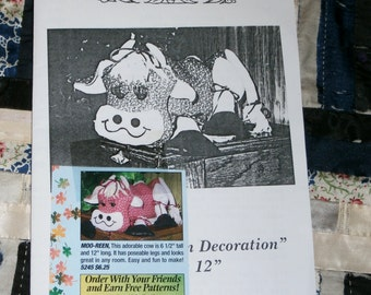 Vintage Special Touch Pattern 5245 for Moo-Reen Cow, Uncut